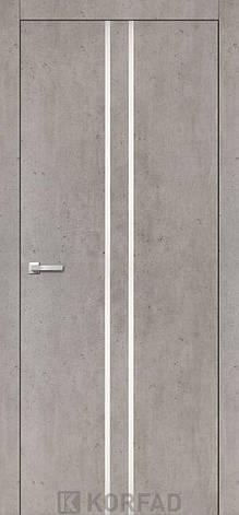 Двери KORFAD щитовые ALP-02, полотно+коробка+ 2к-та наличников+добор 60мм, эко-шпон Sincrolam, фото 2