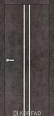 Двери KORFAD щитовые ALP-02, полотно+коробка+ 2к-та наличников+добор 60мм, эко-шпон Sincrolam, фото 3
