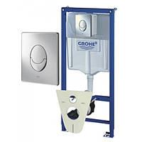 Инсталляция для унитаза Grohe Rapid SL 38750001 4 в1