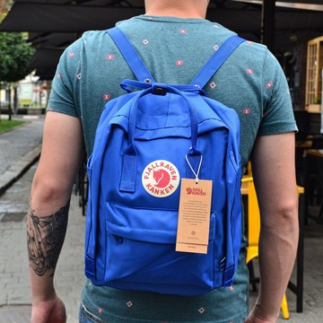 Рюкзак в стиле Fjallraven Kanken classic синий
