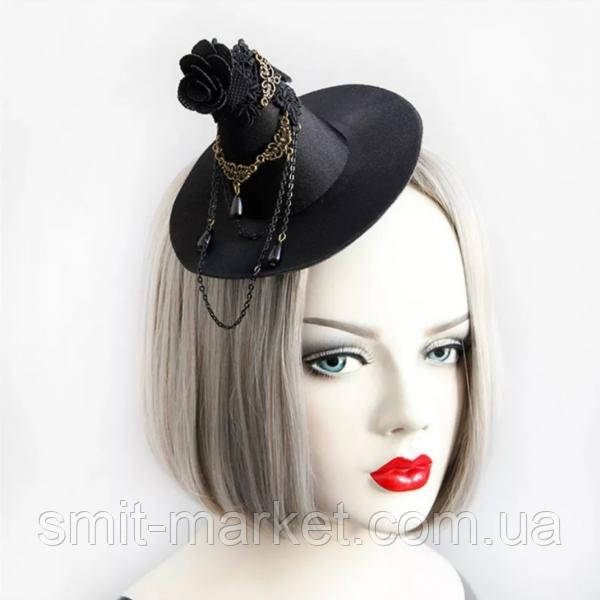 Шляпка Ведьмы на заколках