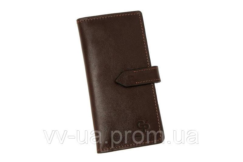 Портмоне Grande Pelle, шоколад, 524620, кожаный