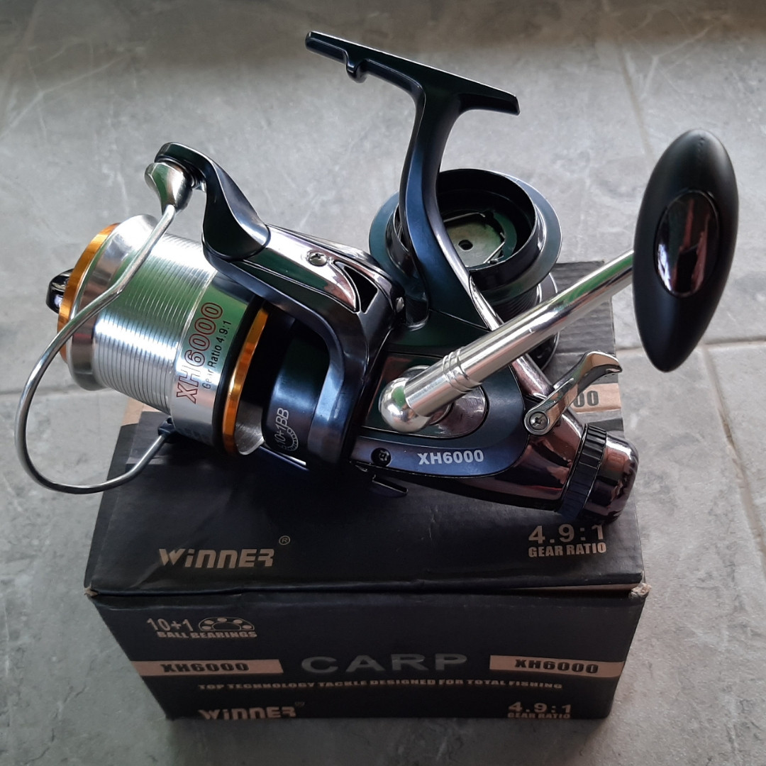 Катушка с бейтраннером Winner Carp XH 6000