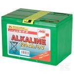 Алкалоидная батарея для электропастуха 9 V, 120 Аh, маленькая