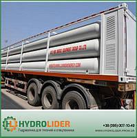 Полуприцеп 12-tube bundle container