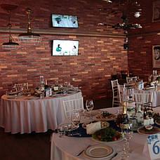Скатерть диаметром 320см для круглого стола 180см Белая Турция, фото 3