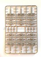 Тележка грузового вагона  ЦННИ-Х3 эпоха  СЖД, СССР, УЗ для сборки / 1:87, фото 1