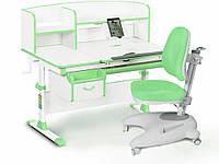 Комплект Evo-kids (стол+ящик+надстройка+кресло) Evo-50 Z (Green)