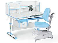 Комплект Evo-kids (стол+ящик+надстройка+кресло) Evo-50 BL (Blue)