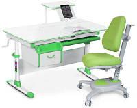 Комплект Evo-kids (стол+ящик+полка+кресло) Evo-40 Z (Green)