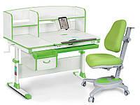 Комплект Evo-kids Evo 50 Z Green (стол+ящик+надстройка+кресло)