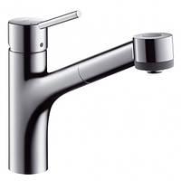 Смеситель для кухни с выдвижным душем Hansgrohe Talis S 32841000