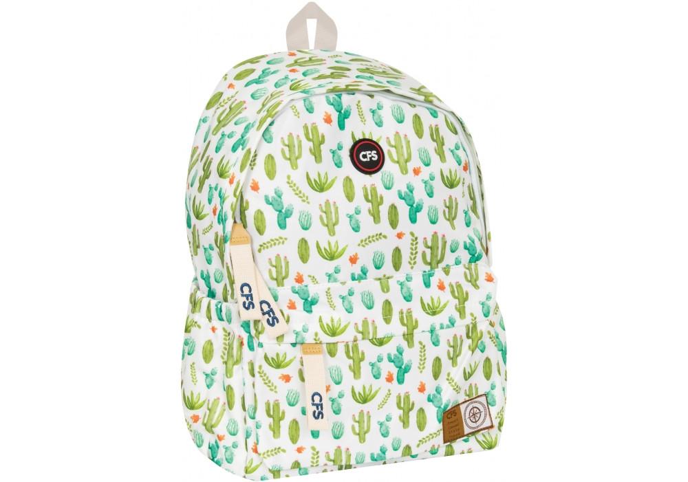 Рюкзак молодежный Cool for school 16.5 Белый (CF86585-04)