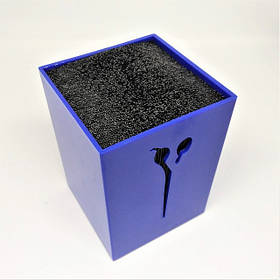 Подставка для парикмахерских ножниц и инструмента SPL 21122, синяя