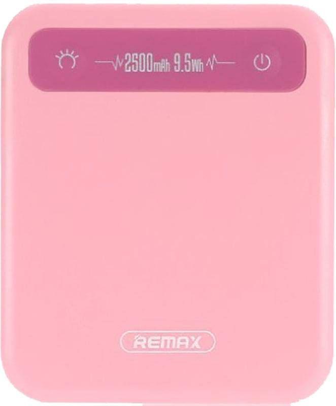 Внешний аккумулятор Remax Pino RPP-51 2500mAh Pink