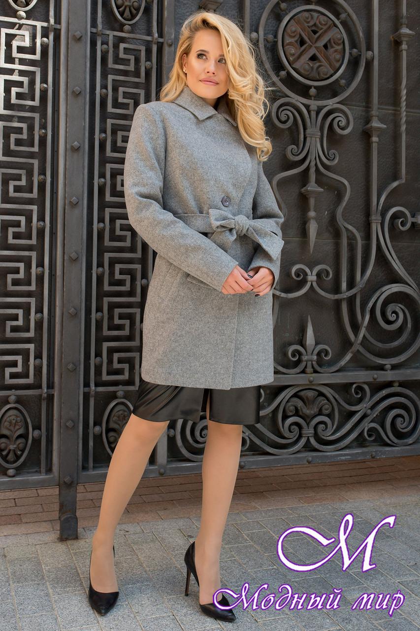 Женское кашемировое пальто осеннее (р. S, M, L) арт. Габриэлла 7823 - 43703