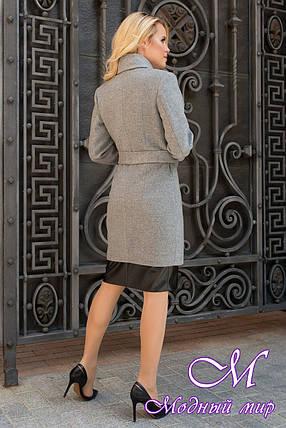 Женское кашемировое пальто осеннее (р. S, M, L) арт. Габриэлла 7823 - 43703, фото 2