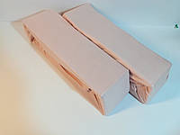Простыни с резинкой 100*200 трикотаж 100% Хлопок, розовый
