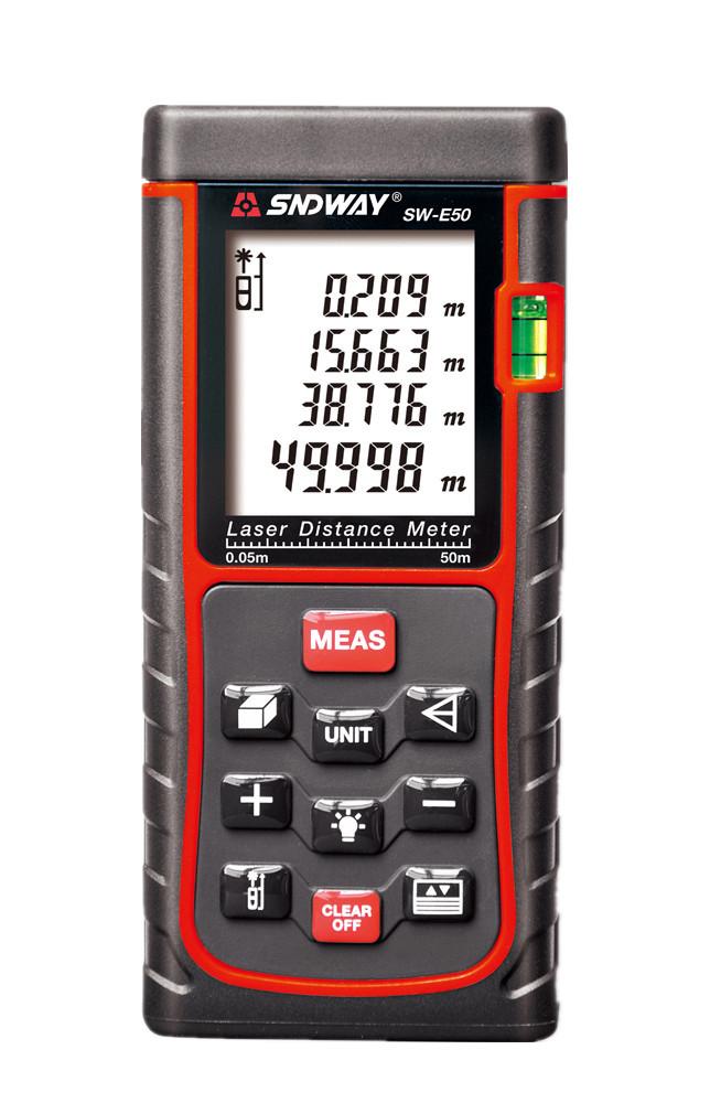 Лазерний далекомір рулетка Sndway (50 - 70 метрів)