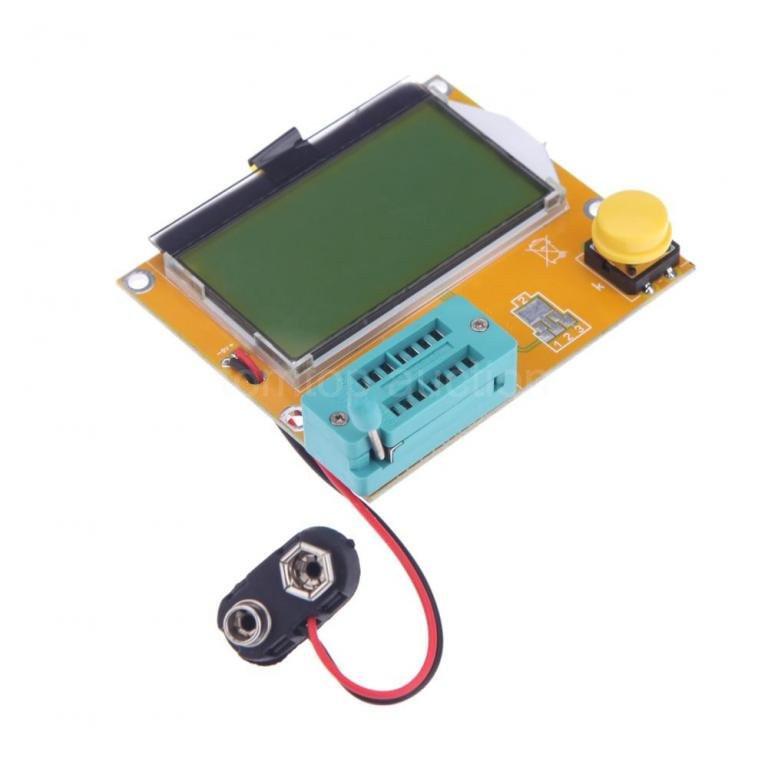 Тестер радіодеталей, транзисторів LCR-T4 ESR