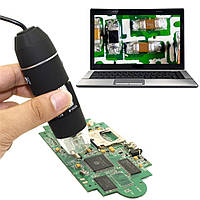 Цифровий USB мікроскоп 1000х, фото 1