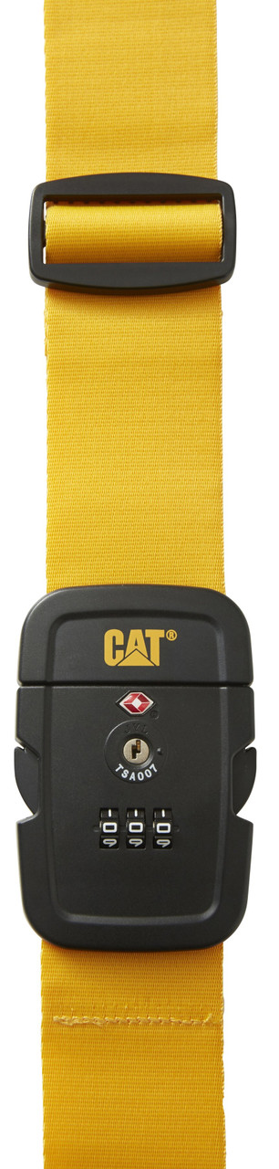 Багажный ремень CAT Travel Accessories 83719;42 желтый