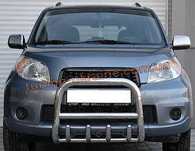 Защита переднего бампера кенгурятник из нержавейки на Mitsubishi ASX 2010-2012