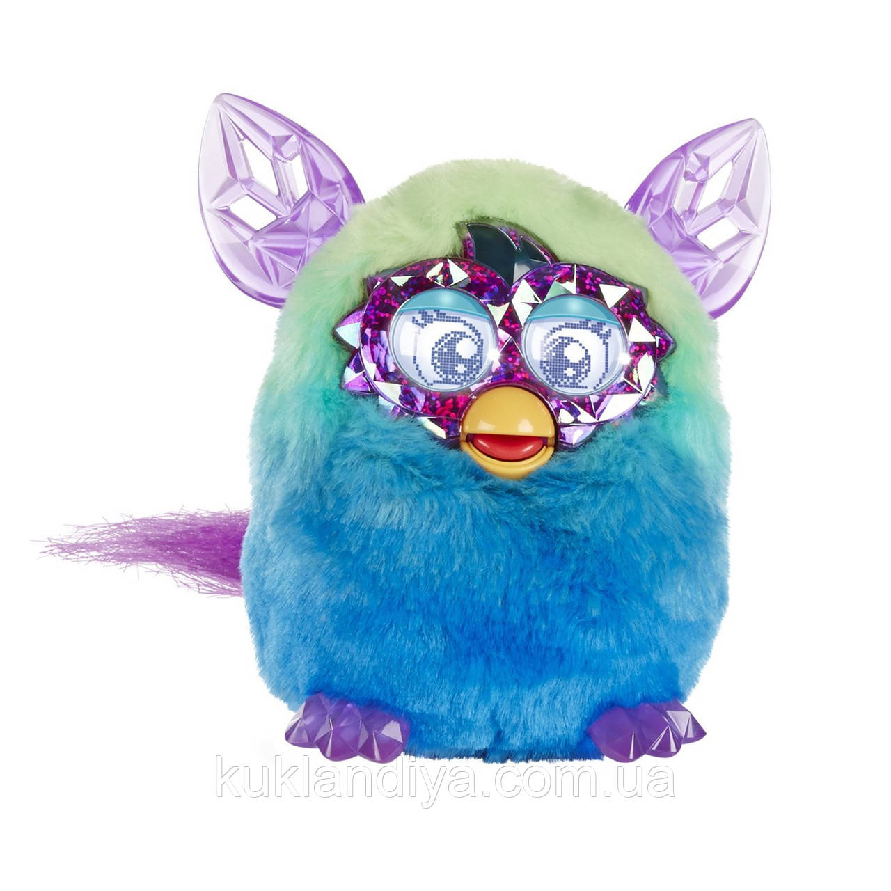 Зелено-Голубой Furby Boom Crystal Series Furby Green/Blue