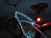 Подсветка гибким неоновым проводом 5.0мм—для велосипеда.