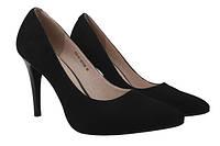 Туфли Lady Marcia натуральная замша, цвет черный