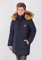Зимняя куртка пуховик  для мальчика  DZ-54B (128-158р), фото 1