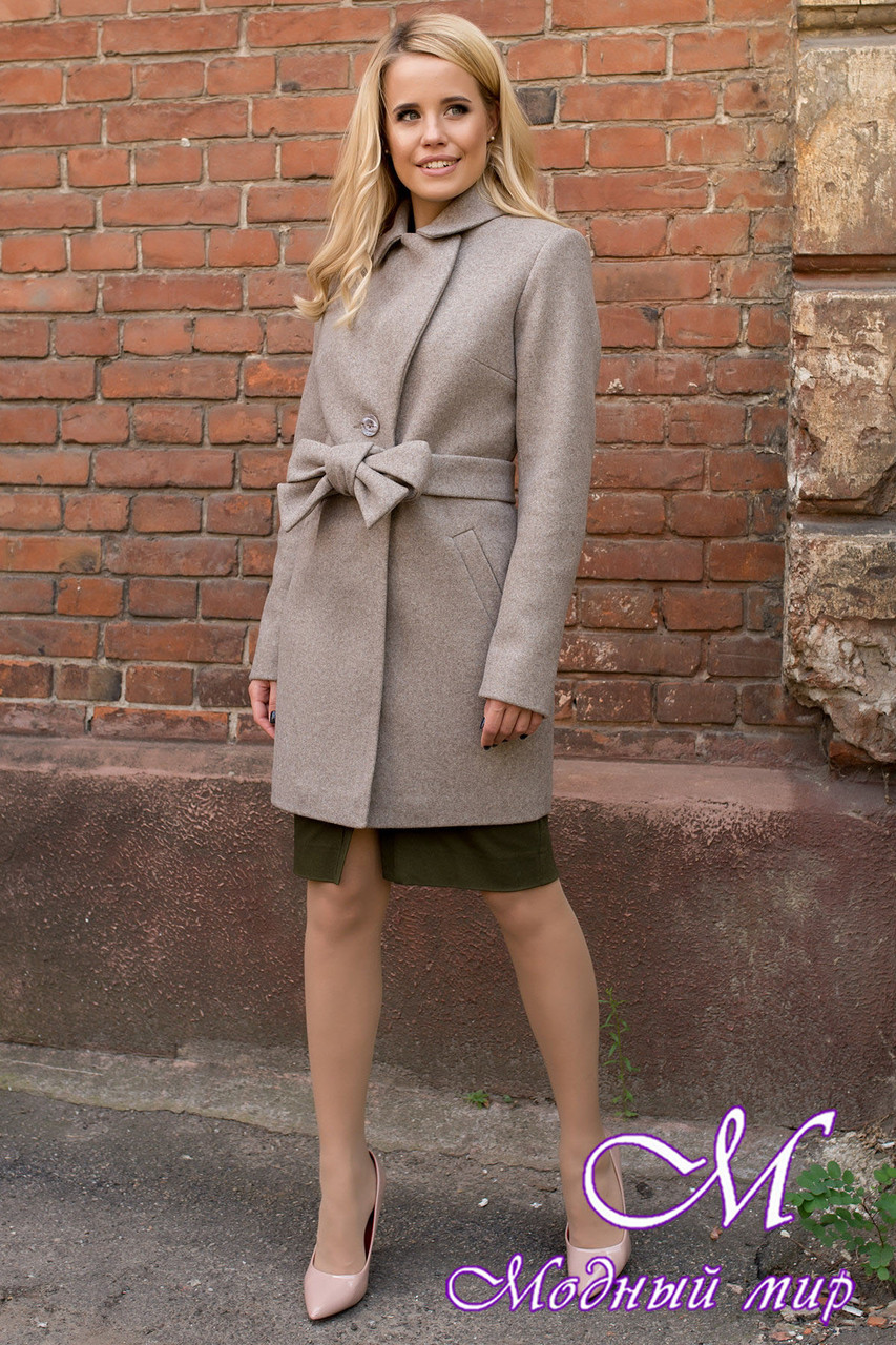 Женское осеннее пальто (р. S, M, L) арт. Габриэлла 7825 - 43712