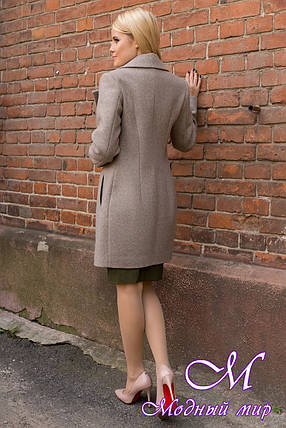 Женское осеннее пальто (р. S, M, L) арт. Габриэлла 7825 - 43712, фото 2