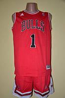 Баскетбольная форма команды Чикаго Буллз