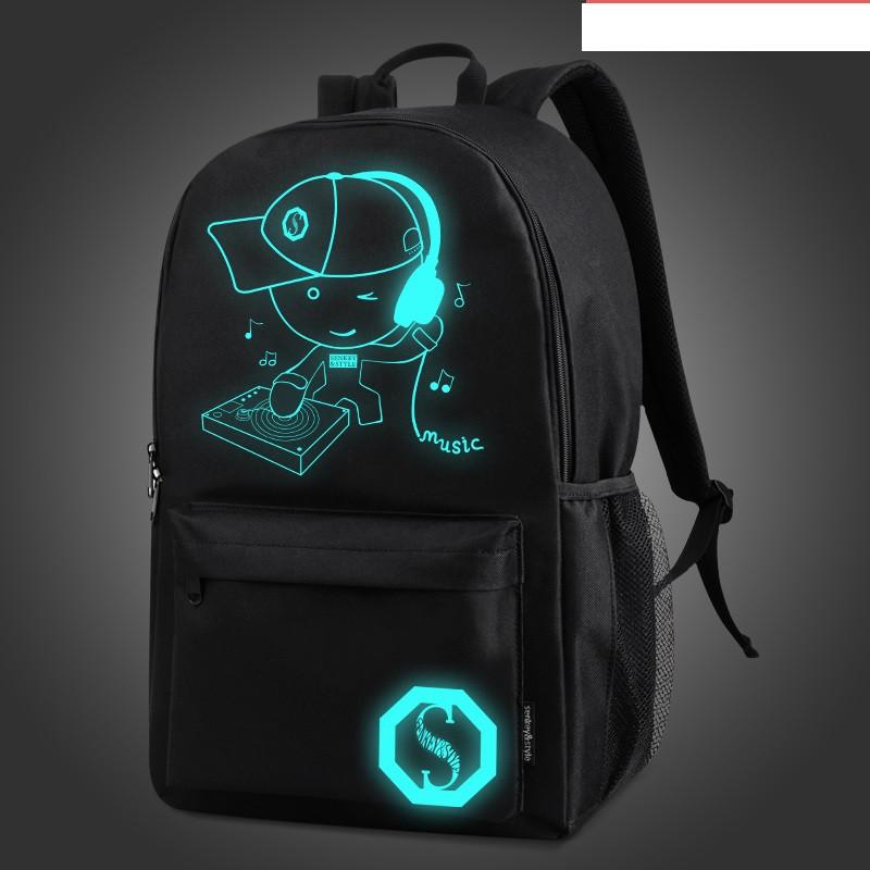 Рюкзак городской светящийся Music Діджей
