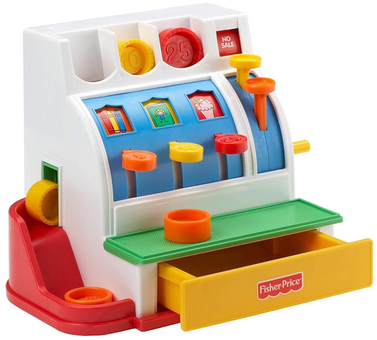 Кассовий аппарат Fisher Price для детей