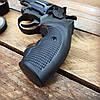 Револьвер ЛАТЭК Safari РФ-431М + 50 патронов флобер 4 мм (чер. пластик), фото 3