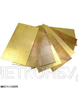 Лист латунь мягкий Л63 1,5х1000х2000 мм