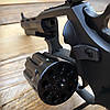 Револьвер ЛАТЭК Safari РФ-441М + 50 патронов флобер 4 мм (чер. пластик), фото 5