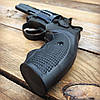 Револьвер ЛАТЭК Safari РФ-441М + 50 патронов флобер 4 мм (чер. пластик), фото 2