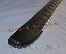 Боковые площадки из алюминия Duru для Ford Transit 2000-2006 Long