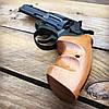 Револьвер ЛАТЭК Safari РФ-441М + 50 патронов флобер 4 мм (бук), фото 2