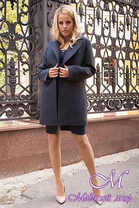 Женское короткое пальто осень весна (р. S, M, L) арт. Вива 7865 - 43776, фото 2