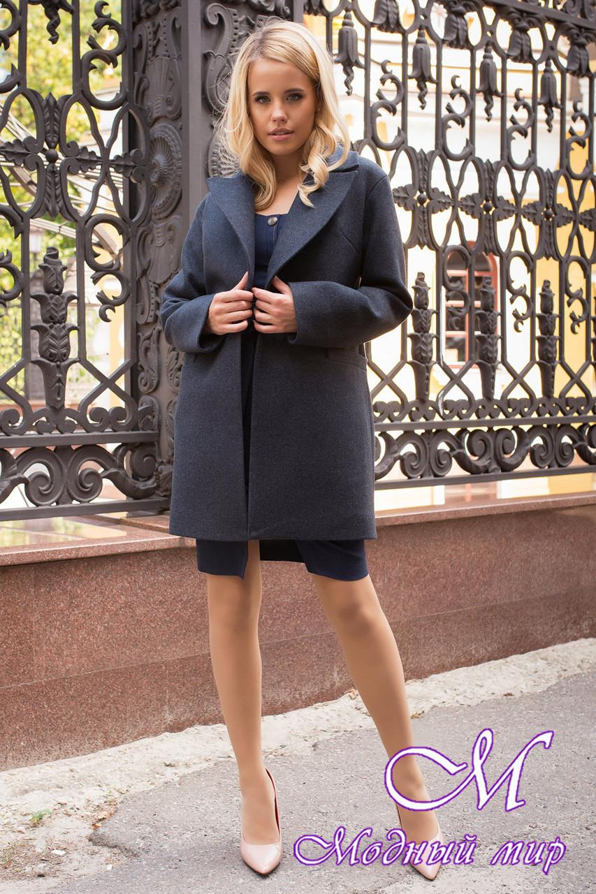 Женское короткое пальто осень весна (р. S, M, L) арт. Вива 7865 - 43776