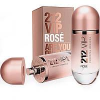 Женская парфюмированная вода Carolina Herrera 212 VIP Rose 80 ml (Каролина Эррера 212)