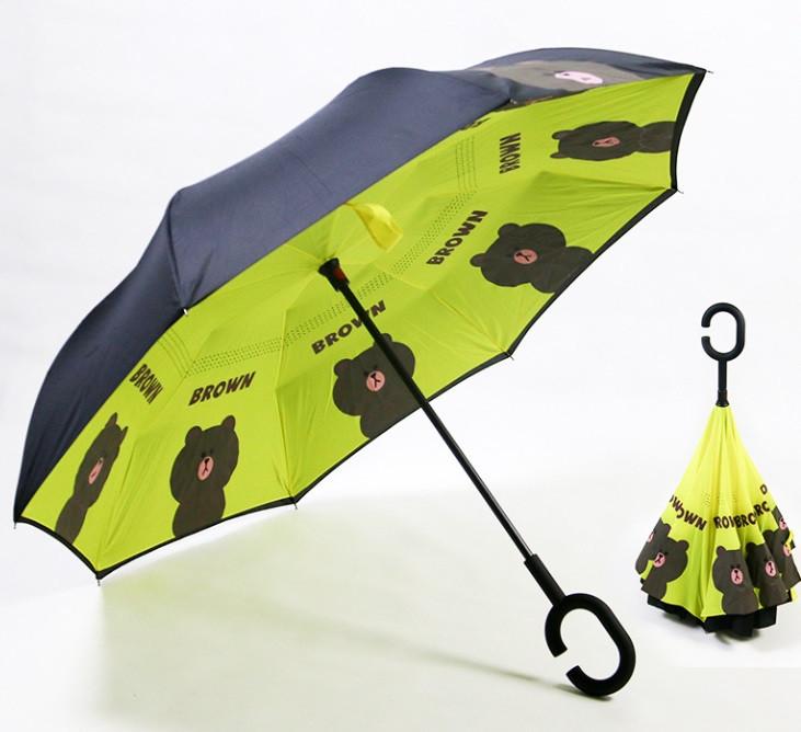 Дитяча парасолька зворотного складання SUNROZ Kids Up-brella парасоля-навпаки Стиль 12 (SUN5226)