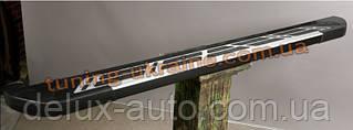 Боковые площадки из алюминия Sunrise для Kia Soul 2013