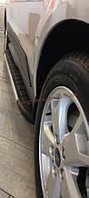 Боковые площадки из алюминия Duru для Mazda BT-50 2006-2011