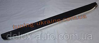 Боковые площадки из алюминия Fullmond для SsangYong Actyon Sport 2006-2012