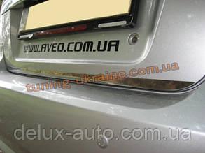 Кромка на багажник Carmos на Chevrolet Aveo 2005-2011 седан